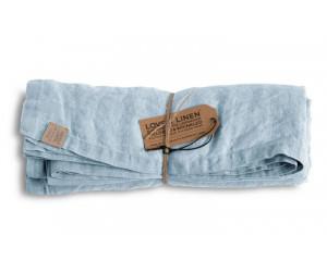 Lovely Linen Leinen Tischwäsche Misty hellblau