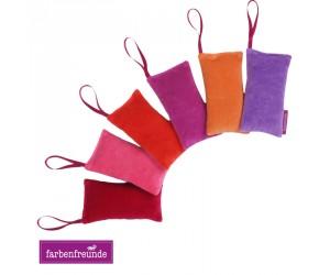 Farbenfreunde Lavendelsäckchen rot (6er Set)