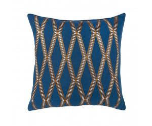 Iosis Dekokissen MAHJONG nachtblau (45 x 45 cm)