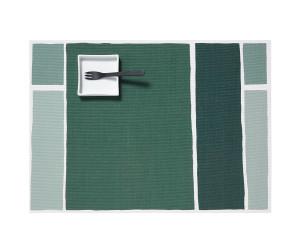 Chilewich Tischset Maptone rechteckig grün-grau -005  (34x47 cm)