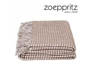 Zoeppritz Decke Mesh braun-840