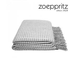 Zoeppritz Decke Mesh silber-weiß-940