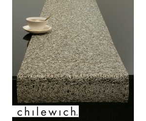 Chilewich Läufer Metallic Lace gold