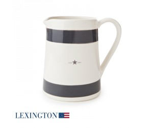 Lexington Milchkrug grau