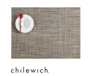 Chilewich Set Rechteckig Mini Basketweave pistachio