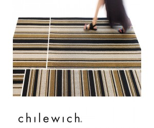 Chilewich Teppich Mixed Stripe luxe