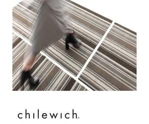 Chilewich Teppich Mixed Stripe oak