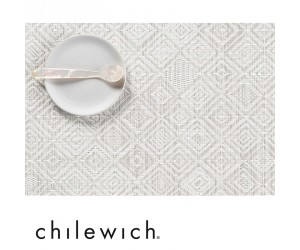 Chilewich Set Rechteckig Mosaic grau