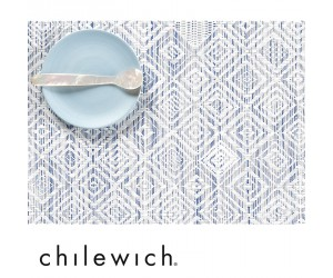 Chilewich Set Mosaic blau