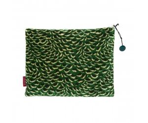 Iosis Täschchen MOVIDA smaragdgrün (21 x 29cm)