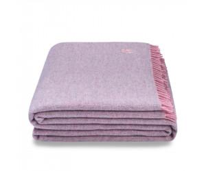Zoeppritz Plaid Must Relax rosa/grau (130 x 190 cm)