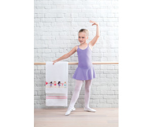 Feiler Frottierserie Kids Ballerina Border Chenille in weiß -504