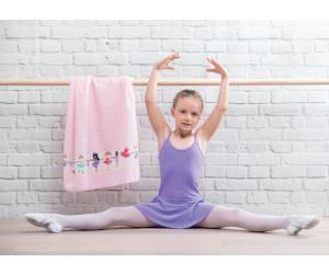Feiler Frottierserie Kids Ballerina Border Chenille in rosa -501