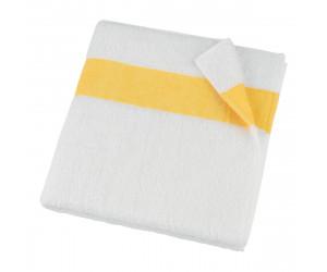 Feiler Frottierserie Exclusiv mit Chenillebordüre in gelb -105