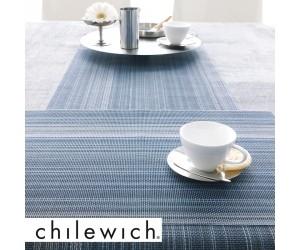 Chilewich Läufer Multi Stripe blau (chambray)