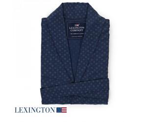 Lexington Ryan Morgenmantel / Kimono-Design in navy