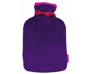 Farbenfreunde Wärmflasche Twins aubergine-spring crocus (213/231)