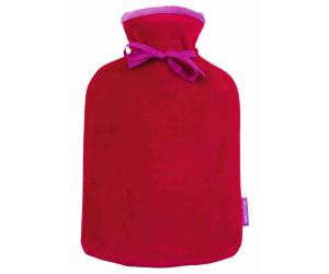 Farbenfreunde Wärmflasche Twins rubin-fuchsia (076/113)