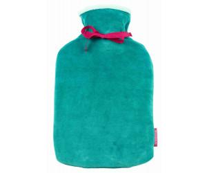 Farbenfreunde Wärmflasche Twins smaragd-karibik (131/123)