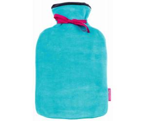 Farbenfreunde Wärmflasche Twins sommerpetrol-blue velvet (108/234)