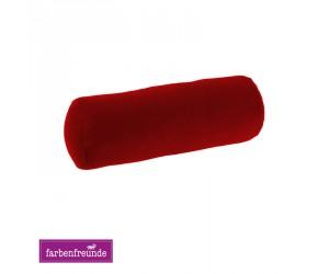 Farbenfreunde Nackenrolle rubin