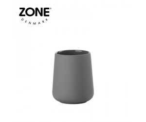 Zone Zahnputzbecher Nova One grey