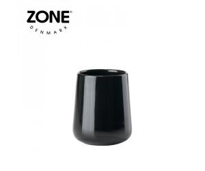 Zone Zahnputzbecher Nova Shine black coral