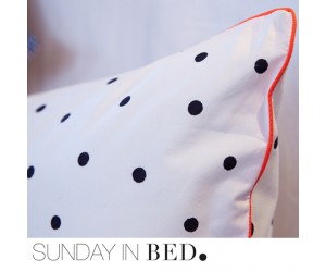 Sunday in Bed Bettwäsche Polka DOT