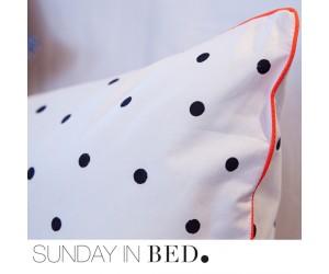 Sunday in Bed Bettwäsche Polka DOT