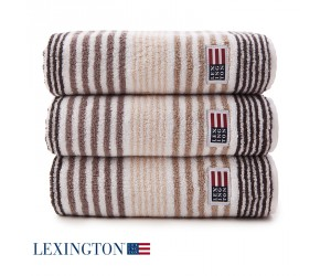 Lexington Handtuch Original Stripe beige