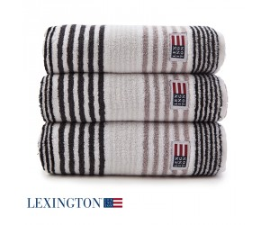Lexington Handtuch Original Stripe grau