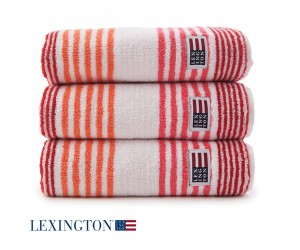 Lexington Handtuch Original Stripe rot