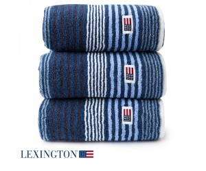 Lexington Handtuch Original Stripe dunkelblau