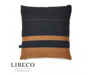 Libeco Dekokissen Oscar blackstripe