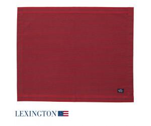 Lexington Platzset Oxford Striped rot 4 er Set
