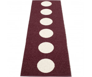Pappelina Outdoor Teppich/Läufer 70x150 cm braun / vanille