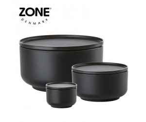 Zone Schale Peili 3er Set black