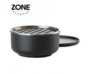 Zone Schale Peili mit Reibe groß black