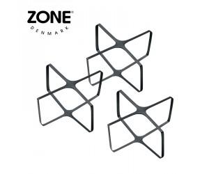 Zone Verschlussgummi 3er-Set Peili black