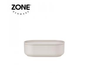 Zone Schale Peili länglich warm grey