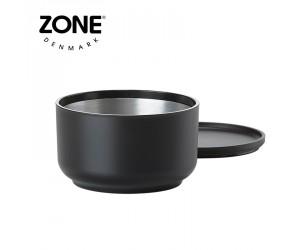 Zone Schale Peili mit Sieb black