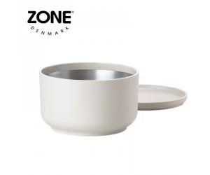 Zone Schale Peili mit Sieb warm grey