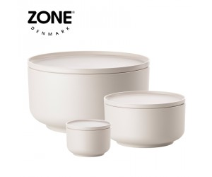 Zone Schale Peili 3er Set warm grey