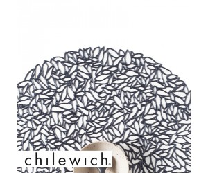 Chilewich Set Petal steel blue