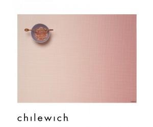Chilewich Set Rechteckig Glow guava
