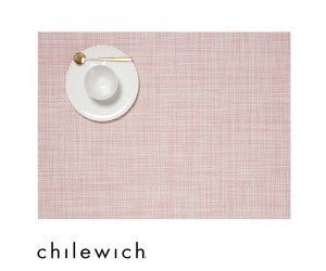Chilewich Set Rechteckig Mini Basketweave blush