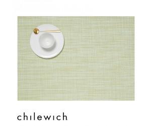 Chilewich Set Rechteckig Mini Basketweave matcha