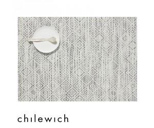 Chilewich Set Rechteckig Mosaic weiß - schwarz