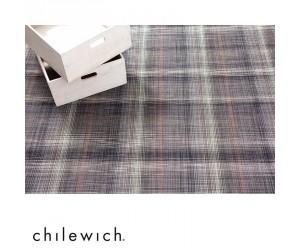 Chilewich Teppich Plaid grau
