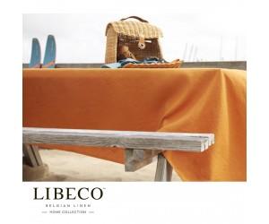 Libeco Tischdecke Polylin clementine